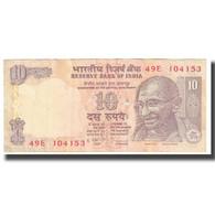 Billet, Inde, 10 Rupees, 2009, KM:89a, TTB - Inde