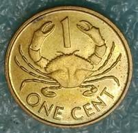 Seychelles 1 Cent, 1990 -4587 - Seychelles