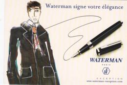 Waterman Signe Votre élégance - Publicité
