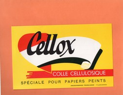 "BUVARD. VALENCIENNES.AMIDONNERIES FRANCAISE. COLLE  "" CELLOX ""   Achat Immédiat - Paints"