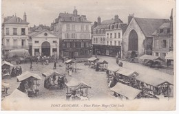 27 Eure -  PONT-AUDEMER -  Place Victor-Hugo Côté Sud - Le Marché - Garage - Marchés