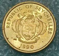 Seychelles 1 Cent, 1990 -4588 - Seychelles