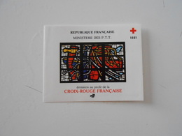 FRANCE  YT CR2030 CARNET CROIX-ROUGE 1981** - Cruz Roja