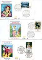 """BRD 3 Schmuck-FDC """"Deutscher Impressionismus"""", Mi. 886/88 ESSt 16.11.1978 BONN 1 - FDC: Covers"""