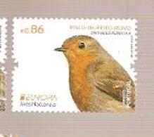 Portugal ** & Europa CEPT, National Birds, Pisco-de-Peito-Ruivo, Erithacus Rubecula 2019 (8722) - Ungebraucht