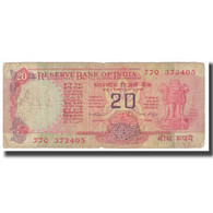 Billet, Inde, 20 Rupees, KM:82c, TB - Inde