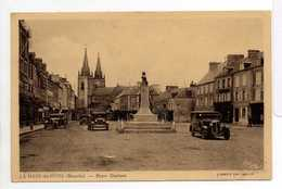 - CPA LA HAYE-DU-PUITS (50) - Place Ducloux 1940 - Photo CIM - - Francia