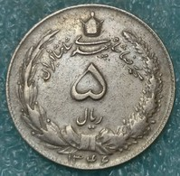 Iran 5 Rials, 1346 (1967) -4593 - Iran