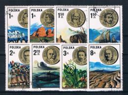 Polen 1973 Forscher Mi.Nr. 2281/88 Kpl. Satz Gest. - 1944-.... Republik