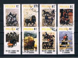 Polen 1980 Pferde Mi.Nr. 2664/71 Kpl. Satz Gest. - Gebruikt