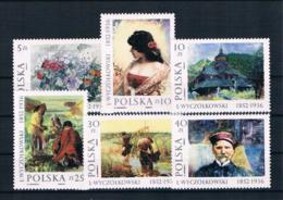 Polen 1987 Gemälde Mi.Nr. 3082/87 Kpl. Satz ** - Nuevos