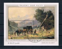 Polen 1996 Gemälde Block 128 Gest. - Used Stamps