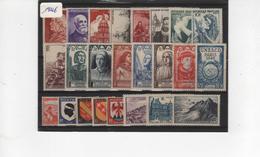 FR-C46 - FRANCE Année Complète Neuve** 1er Choix 1946 Côte 26 € - 1940-1949