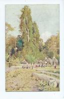 Burma Postcard Tuck's Unposted  Oilette Elephants Loading Teak - Myanmar (Burma)