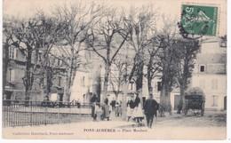 27 Eure -  PONT-AUDEMER -  Place Maubert - 1908 - Pont Audemer