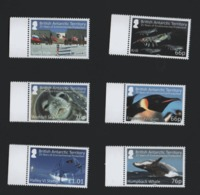 British Antarctic Territory BAT 2016 Set Environmental Protection    / Antarctique Britannique Environnement Faune ** - Neufs