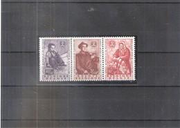 Belgique - 1128/30 Année Du Réfugié -1960 - Série Complète XX/MNH - Refugees