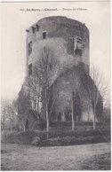 18. CHAROST. Donjon Du Château. 883 - Autres Communes
