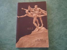 AGENDA DU JEUNE FRANCAIS 1933 - Diverses Activités Professionnelles Par L'Engagement Militaire (44 Pages) - Calendars