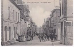27 Eure -  NONANCOURT - Grande Rue -  Hôtel Du Grand Cerf - Concert - 1918 - Autres Communes
