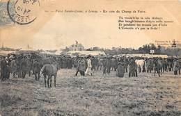 50-LESSAY- FOIRE SAINTE-CROIX- UN COIN DU CHAMP DE FOIRE - Frankreich