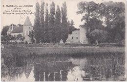 18. MAREUIL-SUR-ARNON. Les Bords De L'Arnon. Ruines De L'ancien Château. 3 - Autres Communes