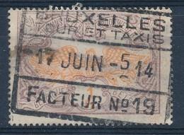 """TR 41 - """"BRUXELLES - TOUR ET TAXIS - FACTEUR Nr 19"""" - (ref. JAN-27.244) - 1895-1913"""