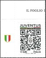 Italia 2015 Juventus Campione D'Italia 2 Valori Con Appendice - 1946-.. République