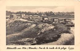 50-BLAINVILLE-SUR-MER- VUE DE LA ROUTE DE LA PLAGE - Blainville Sur Mer