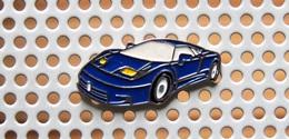 Pin's BUGATTI EB 110 - Collection Des Super-cars - Pin's