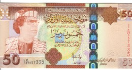 Lybia  LIBIA New 50 DINAR UNC UNC Fds Lotto 2507 - Libya