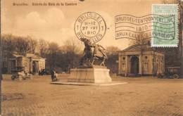 BRUXELLES - Entrée Du Bois De La Cambre - Forêts, Parcs, Jardins