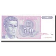 Billet, Yougoslavie, 500 Dinara, 1992, 1992, KM:113, SUP - Yougoslavie