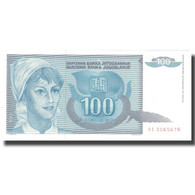 Billet, Yougoslavie, 100 Dinara, 1992, 1992, KM:112, SUP - Yougoslavie