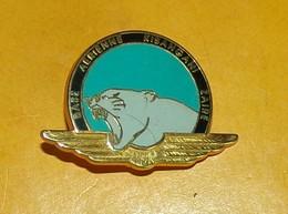 Base Aérienne De KISANGANI, ZAIRE, (Opération TURQUOISE)rondache Bleu Turquoise Bordure Verte Posée Sur Un Vol Doré Pant - Forze Aeree
