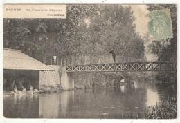 91 - BRUNOY - La Passerelle D'Epinay - Cliché Chopard - 1906 - Lavoir - Brunoy