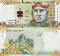 Peru 2009 - 10 Nuevos Soles - Pick 182 UNC - Peru