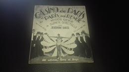 Programme Josephine Baker Au Casino De Paris 31 Décembre 1930 - Programmes
