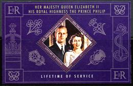 Sainte-Lucie Saint Lucia Bf 070 H.M Queen Elizabeth II - Case Reali
