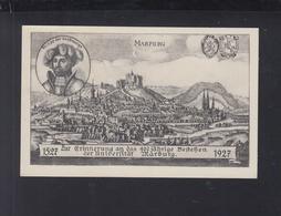 Dt. Reich GSK 1927 400 Jahre Uni Marburg Ungebraucht (3) - Stamped Stationery