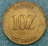 Zaire 10 Zaires, 1988 -2391 - Zaïre (1971-97)