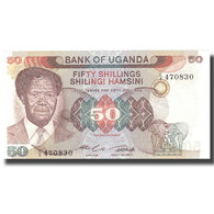 Billet, Uganda, 50 Shillings, Undated (1973-77), KM:13b, NEUF - Ouganda