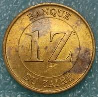 Zaire 1 Zaire, 1987 -2392 - Zaïre (1971-97)