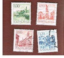 JUGOSLAVIA (YUGOSLAVIA)   - SG 1469.1480   -    1971  TOURISM  - USED - 1945-1992 République Fédérative Populaire De Yougoslavie