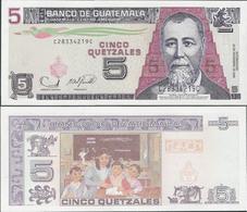 Guatemala 2006 - 5 Quetzales - Pick 106b UNC - Guatemala