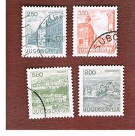 JUGOSLAVIA (YUGOSLAVIA)   - SG 1663.1667   -    1981  TOURISM          -  USED - Oblitérés