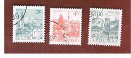 JUGOSLAVIA (YUGOSLAVIA)   - SG 1664a.1675a   -    1982  TOURISM          -  USED - Oblitérés