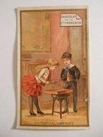B0070c - Chromo Chocolat De La Cie Française XYLOPHONE ZOOTROPE Musique - Thé De La Chine - Vieux Papiers