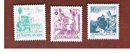 JUGOSLAVIA (YUGOSLAVIA)   - SG 1670.1882a   -    1983  TOURISM          -  USED - Oblitérés