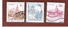 JUGOSLAVIA (YUGOSLAVIA)   - SG 1672.1679   -    1984  TOURISM          -  USED - Oblitérés